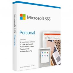 Micrsoft QQ2-00982 Office 365 Personal Win/Mac, Retail Box, 1 User, 1 Year Subscription