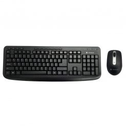 Dynabook KL50M Wireless Keyboard and Mouse Combo, Black